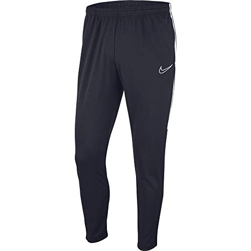 NIKE M NK Dry Acdmy19 Pant Kpz Sport Trousers, Hombre, Obsidian/White/White, L