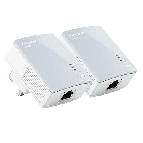 Mr Cartridge Kit 2 Adattatore di Rete Powerline TP-Link TL-PA411KIT AV600 500mbps