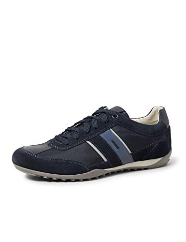 Geox U Wells C buty sportowe męskie, niebieski - niebieski - 43 EU