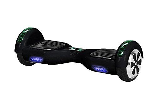 Robway W1 Hoverboard - Das Original - Samsung Marken Akku - Self Balance - 22 Farben - Bluetooth - 2 x 350 Watt Motoren - App - Led (Schwarz)