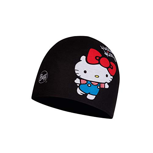 Buff 45Th Bonnet Micro Polaire Hello Kitty Jr Fille Noir FR : Taille Unique (Taille Fabricant : Taille One sizeque)
