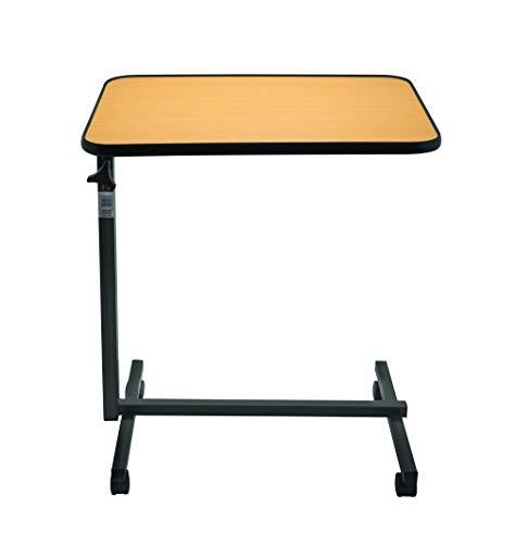 Beistell-Tisch Pflegetisch Betttisch Krankentisch STANDARD braun