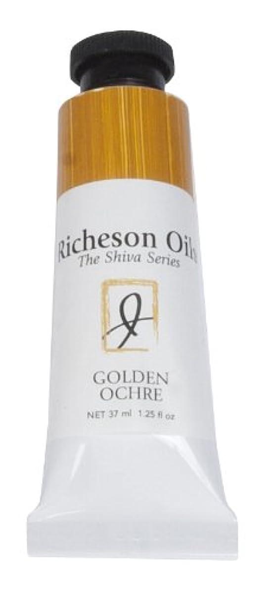Jack Richeson 37-Ml Artist Oil Colors, Golden Ochre