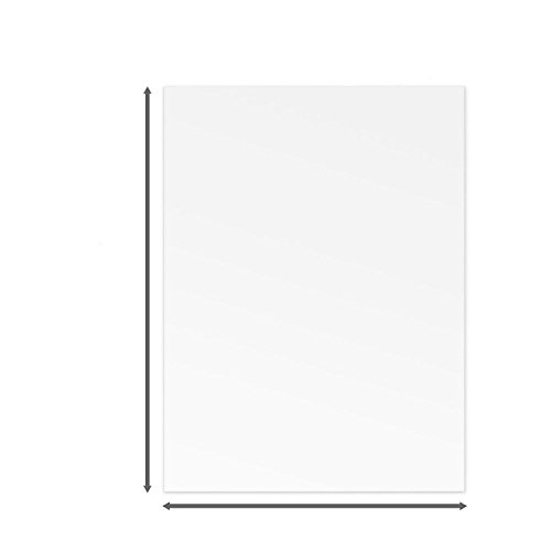 pomcat 10,2x 15,2cm .040PETG klar Styrol/Plexiglas-10Blatt