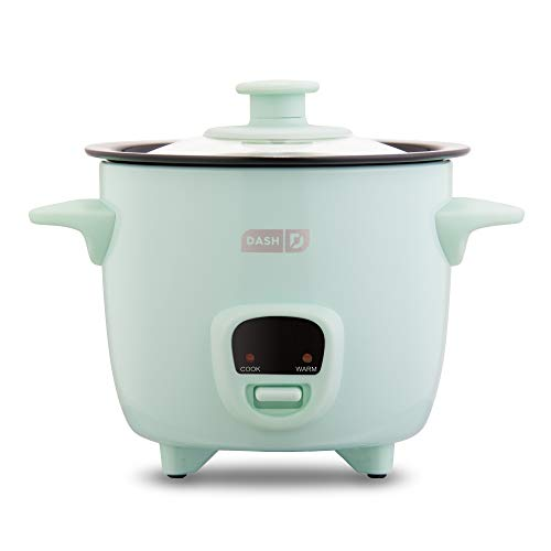 Dash Mini Rice Cooker Steamer with Removable Nonstick Pot Now $19.99 (Was $35)