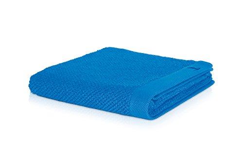 möve New Essential Handtuch 50 x 100 cm aus 100% Baumwolle, dark pool