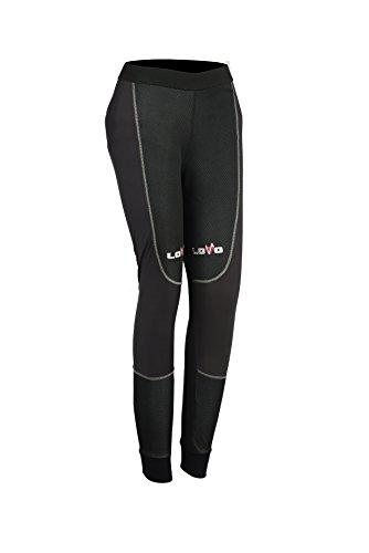 Pantalons thermiques pour moto de femmes M noir