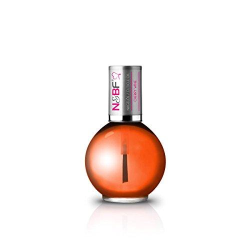 N&BF Nagelöl Cherry Whine mit Duft (Kirsche) 11,5ml   Nährstoffreiche Pflege für Nagel und Nagelhaut   Repair and Protect Öl unterstützt optimal bei der Regeneration der Fingernägel