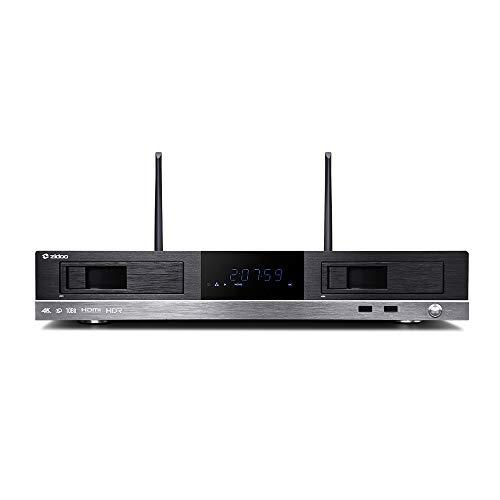 Zidoo X20 Pro Professioneller Ultra-HD 4K HDR Multimediaplayer schwarz