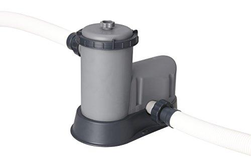 Bestway 58389 | Flowclear - Pompa di Filtraggio a Cartuccia per Piscine fuori Terra, Portata 5.678 L/H