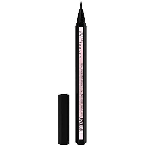 maybelline eye pencils Maybelline Hyper Easy Liquid Pen No-Skip Eyeliner, Satin Finish, Waterproof Formula, Eye Liner Makeup, Pitch Black, 0.018 Fl; Oz