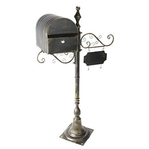 Briefkästen Wandmontage Wasserdicht Briefkasten Geschenke Großraum Mailbox Outdoor Retro 6 Farboptionen Briefkästen Zubehör American Style