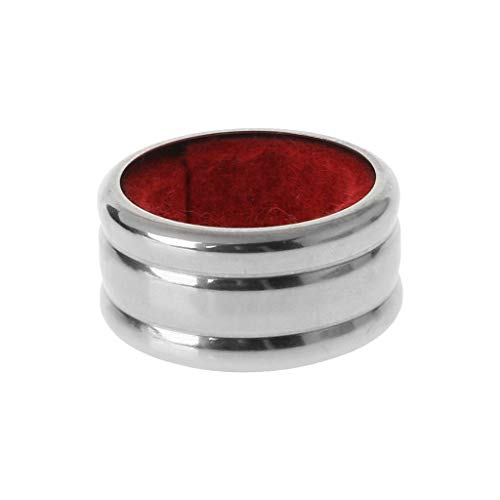 ruiruiNIE Praktische Rotweinflasche aus rostfreiem Stahl Tropfsturzsicher Stop Ring Bar Werkzeuge Flasche Tropfenring Rot