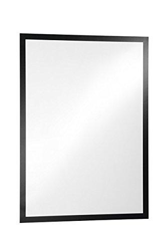Durable 499701 Info-Rahmen Duraframe Poster (A1 selbstklebender Plakatrahmen mit Magnetverschluss) 1 Stück Schwarz