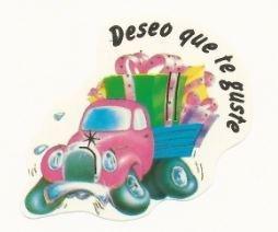 Etiquetas Adhesivas Regalo Deseo Que Te Guste Marca Pro-Embalajes
