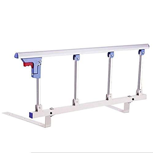 Bed Rail Opvouwbare bedrooster-veiligheidszijbescherming voor ouderen, volwassenen, ondersteunt grip, handikap-bedrooster-kast-metalen handgreep-bumper