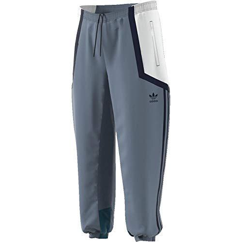 adidas Men's Nova Wind Sweatpants, Blue, Larg