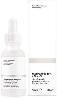 Niacinamide 10٪ Zinc 1٪ Serum for Face - Pore Reducer USA Skin Care (30ml)