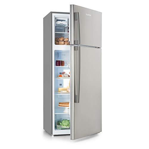 Klarstein Jumbo Cool Kühl-/Gefrierkombination - Kühlschrank, Kühlschrank: 394 l, Gefrierfach: 116 l, 7 Kühlstufen, Energieeffizienzklasse A+, No Frost, 3 Kühlschrankablagen, Gefrierfachablage