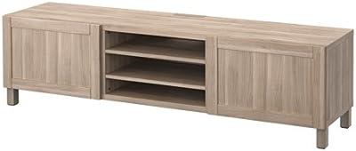 Amazon Com Sonax Granville 66 Inch Wood Veneer Tv Bench