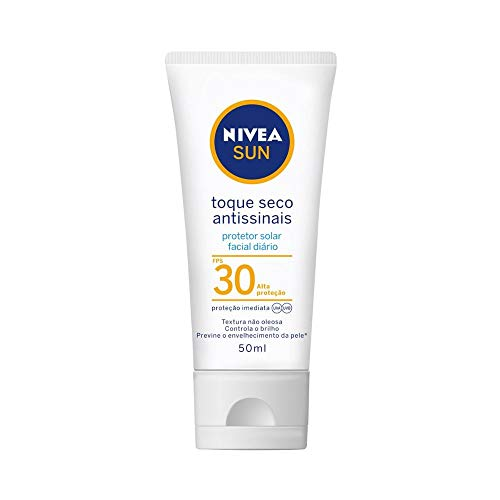 Protetor Solar Sun Facial Seco Fps30 50ml, Nivea