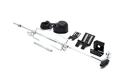 """GrillPro 60090 Rotisserie Kit for Grills, 39-1/2"""", Black"""