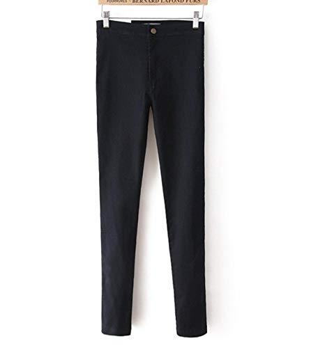 Guapo Jeans Vaqueros Pantalon Moda Jeans Mujer Pantalones Lápiz Jeans De Cintura Alta Sexy Slim Elastic...