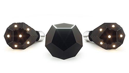Nanoleaf NL15-0003 Ivy Smarter Kit, Rame, Nero, 7.5 watts, led, standard