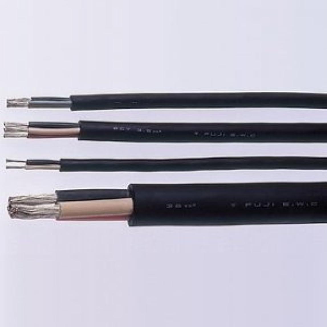 荒らす予備ほぼ富士電線 切売販売 2種天然ゴム絶縁天然ゴムキャブタイヤケーブル 5.5m㎡ 3心 10m単位切り売り 2CT5.5SQ×3C