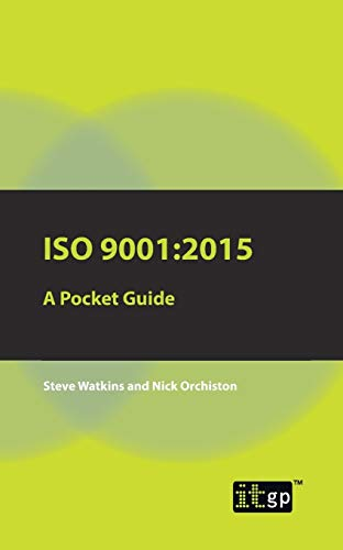 ISO 9001: 2015 A Pocket Guide