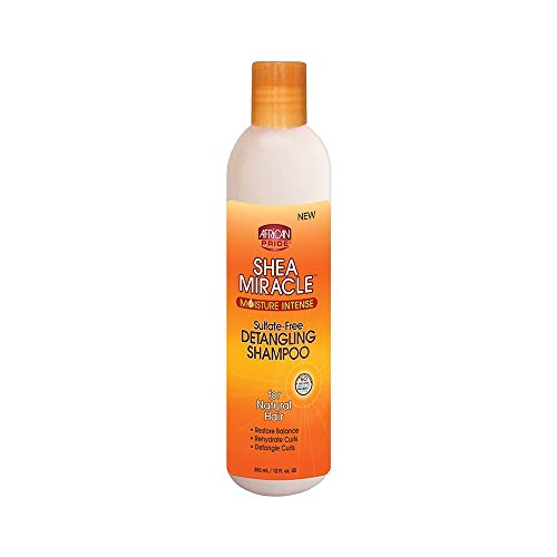 Ap Shea Butter Miracle Detangling Shampoo 12oz (2 Pack) by AFRICAN PRIDE