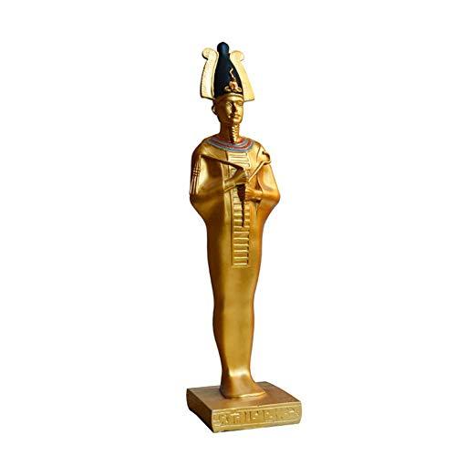 FACAZ Estatua del faraón Egipcio, Escultura del Rey Tutankamón, Figura Decorativa egipcia Antigua, colección Art Deco Vintage, Recuerdo