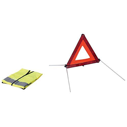 HABILL-AUTO Set 1 Dreieck + 1 Sicherheitsweste E11 und Transporttasche
