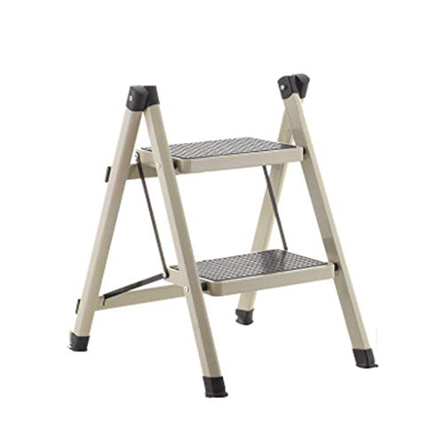 ZHENAO Step Stool for Adults Dormitory Household Collapsible Ladder Multifunction Hanging Ladder / H5 / H5