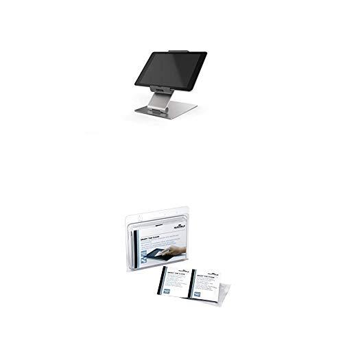 Durable 893023 Tablet Tischhalterung (für Tablets 7-13 Zoll, 360° drehbar mit...