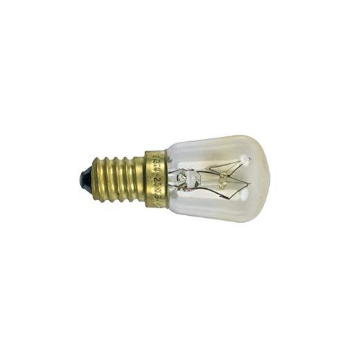 Speziallampe Lampe Glühbirne Backofen Ofen Herd E14 25W 240V bis 300°C passend wie Bosch Siemens Neff 00032196 AEG Electrolux 5028814200 Küppersbusch 184018 Miele 2825990 Whirlpool 484000000982