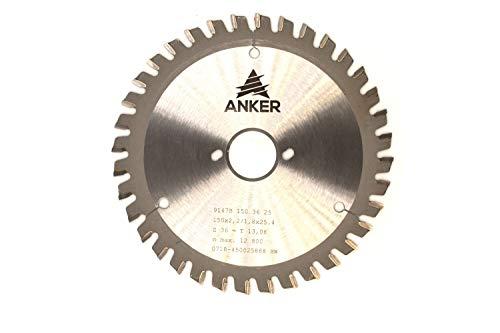 ANKER Spezial Metall und Kunststoffsägeblatt Ø 150 x 25,4mm 36 Zähne | Zahnstellung Wechselzahn mit Fase| Passend für Bepo FFS150/151S/151SE