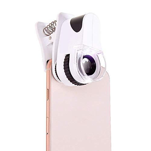 Carl Artbay Gloednieuw, hoge kwaliteit 60 keer USB-microscoop, LED-licht HD vergrootglas Jade sieraden munten identificeren voor iPhone, Samsung, LG en andere smartphones HD draagbaar