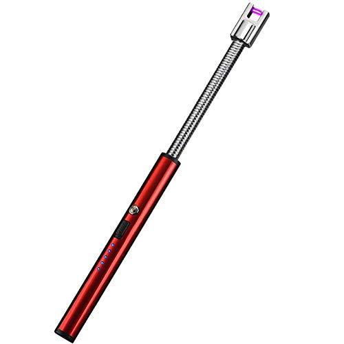 Lichtbogen Feuerzeug, Elektronisch USB Aufladbares Feuerzeug Stabfeuerzeug Plasma Feuerzeug Winddichte Elektro Arc Lighter Für Yankee Kerzen, Grill, Küche, Herd, Camping, Kamin