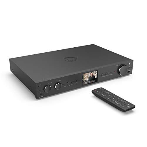 Hama HiFi-Tuner DIT2105SBTX Internet Radio, DAB/DAB+, Bluetooth (Tuner HiFi mit Internetradio, Digitalradio/FM, WLAN, Stereo Receiver Spotify/Amazon Music, Fernbedienung, USB/AUX, Wecker) schwarz