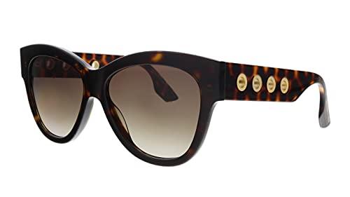Alexander McQueen - Mcq gafas de sol - brown