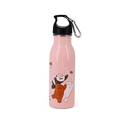 Somos Osos Rosa-Botella de Agua