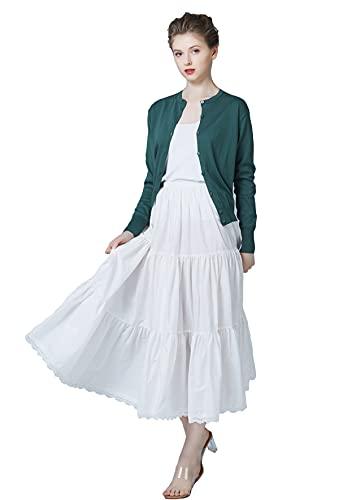 L Vestido Flamenca Con Falda Capa Larga