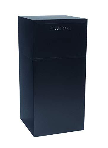 dVault Deposit Vault DVCS0020 Secure Collection and Package Drop (Black)