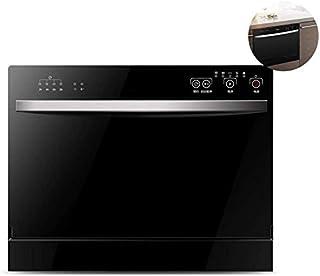 WYZXR Lavavajillas de sobremesa de 220 V, lavavajillas Empotrado en el hogar automático, 6 Cubiertos, 5 Funciones de Lavado