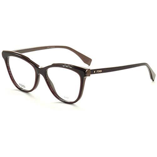 FENDI FF 0255 0T7 53 Gafas de sol, Morado (Plum), Mujer