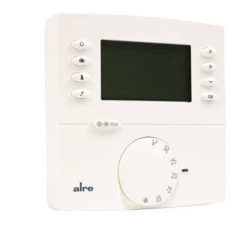 strawa Funk-Uhrenthermostat AP Heizen/Kühlen-Digital Aufputz