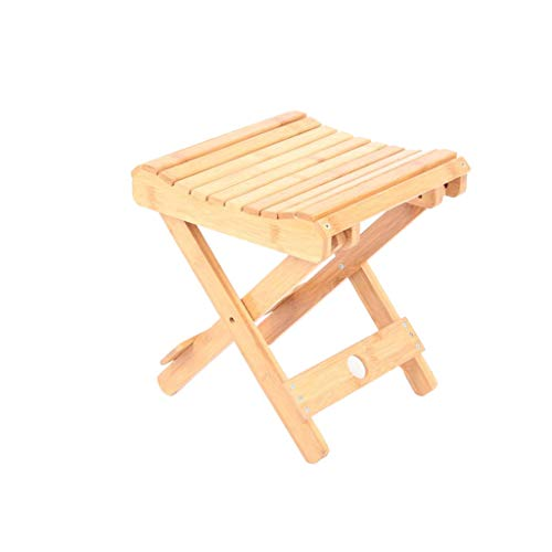 Kantoorstoel stoel verandering schoen bank balkon woonkamer massief hout vouwen kruk draagbare kinderstoel stoel