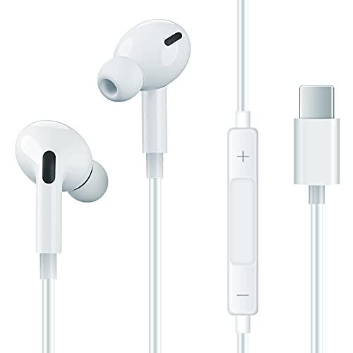 In-Ear Earphones, HiFi Stereo Headphones,with Built-in Microphone & Volume...