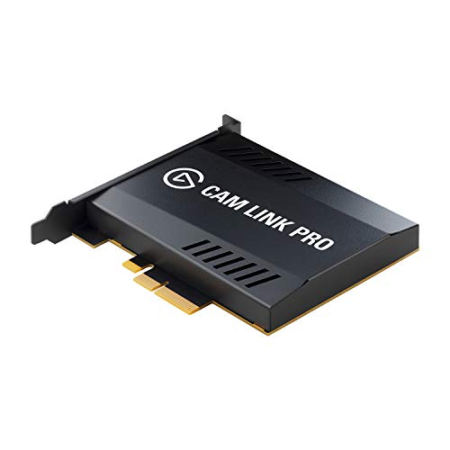 Elgato Cam Link Pro Scheda di Acquisizione Video PCIe, 4 Ingressi HDMI, 1080p60 Full HD, 4K30, Multiview, Streaming, Videoconferenze, OBS, Zoom, Ecc